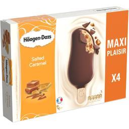Glaces caramel sauce caramel salé Haagen-Dazs