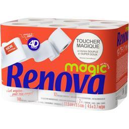 Rouleaux de papier hygiéniques blanc