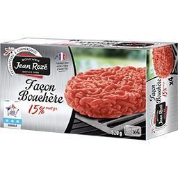 Steak haché façon bouchère 15% MG