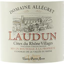Côtes du Rhône Villages Laudun, vin rouge