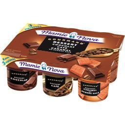 Gourmand - Dessert chocolat/café/caramel au beurre s...