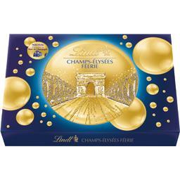 Lindt Champs Elysée Féérie - Assortiment de bonbons de cho... la boite de 16 - 175 g