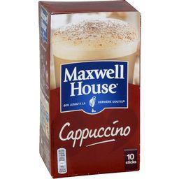 Maxwell house Préparation pour cappuccino les 10 sticks de 14,8 g