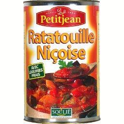 Soulié restauration, ratatouille niçoise avec légumes frais