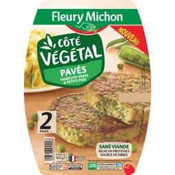 Côté Végétal - Pavés haricots verts & petits pots