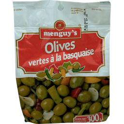 Olives vertes à la basquaise