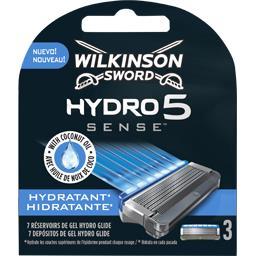 Lames Hydro 5 Sense hydratant