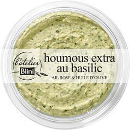 Houmous extra au basilic
