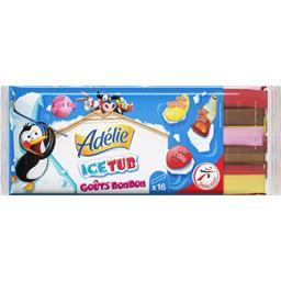 Glace à l'eau Ice Tub goûts bonbon