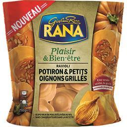 Plaisir & Bien-être - Ravioli potiron petits oignons...