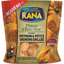 Plaisir & Bien-être - Ravioli potiron petits oignons grillés