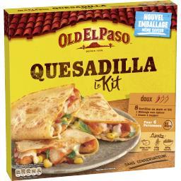 Old El Paso Kit pour Quesadillas au fromage fondu