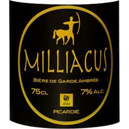 Bière Milliacus ambrée