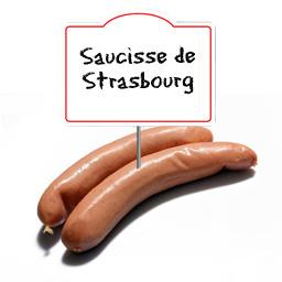 Saucisse de STRASBOURG