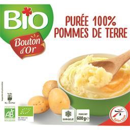 Purée 100% pommes de terre BIO