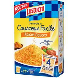 Semoule de couscous facile, épices douces