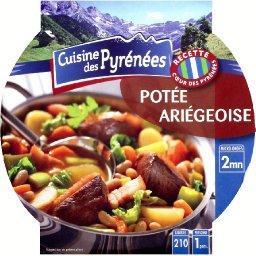 Potée ariégeoise,Cuisine Des Pyrénées,la barquette de 350g