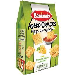 Apéro Cracks - Pitas croquants goût fromage italien & herbes