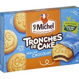 Biscuits Tronches de Cake au chocolat