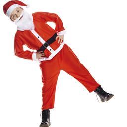 Costume enfant Père-Noël taille 4-6 ans