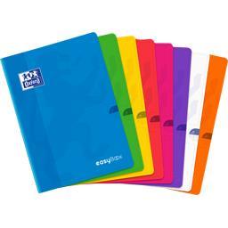 Cahier Easybook agrafé 210x297 90 g seyes coloris as...