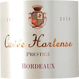 Bordeaux Prestige, vin rouge