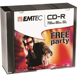 CD-R 80MIN/700MB 52X SLIM