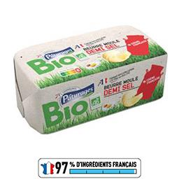 Beurre moulé demi-sel BIO