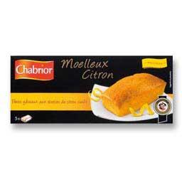 Moelleux citron, petits gâteaux aux écorces de citron confit