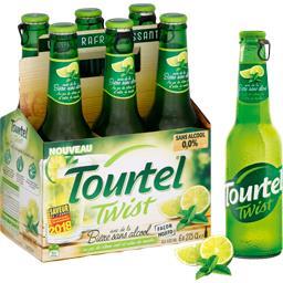 Bière sans alcool Twist façon Mojito