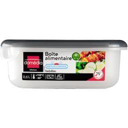 Kitchen - Boite alimentaire rectangulaire 0,6 L valve d'air