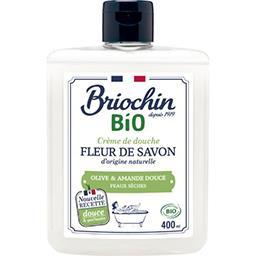 Briochin Fleur de Savon - Savon douche huile d'olive & amande... le flacon de 400 ml