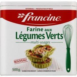 Farine aux légumes verts multi usages