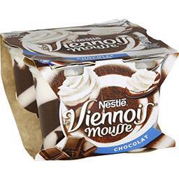 Dessert lacté Mousse de Viennois chocolat