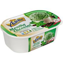 Crème glacée menthe chocolat