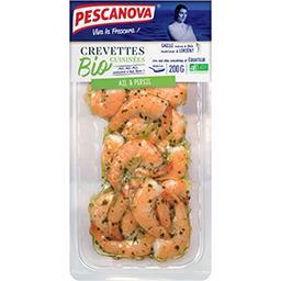 Crevettes cuisinées ail et persil