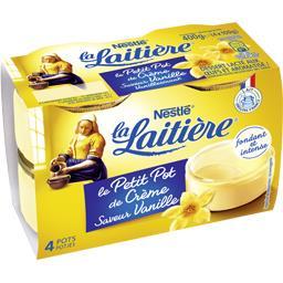 Le Petit Pot de Crème saveur vanille