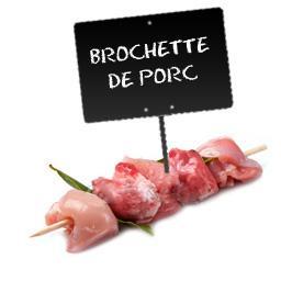 Brochettes PORC  FABRICATION MAISON