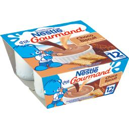 P'tit Gourmand - Dessert Choco biscuité, 12+ mois