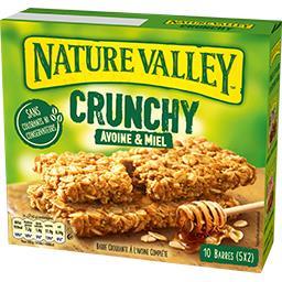 Barres Crunchy avoine & miel