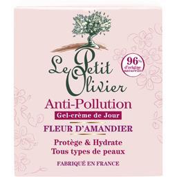 Gel-crème de jour Anti-pollution fleur d'amandier