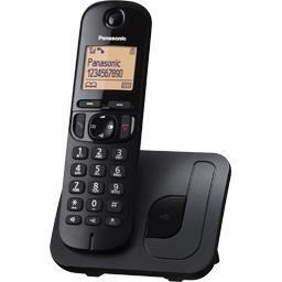 Téléphone sans fil solo sans répondeur base blanche