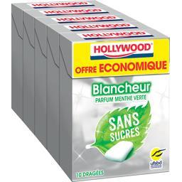 Chewing gum blancheur parfum menthe verte sans sucre...