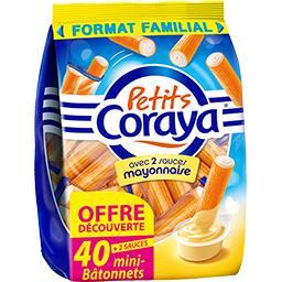Petits Coraya - Surimi avec sauces mayonnaise