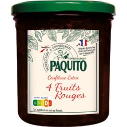 Confiture extra de 4 fruits rouges