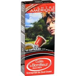 Capsules de café moulu Centre Amérique