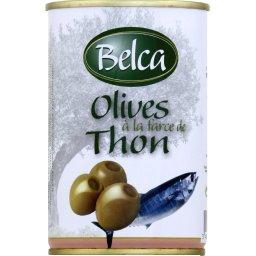 Olives à la farce de thon