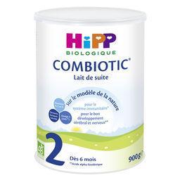 Lait de suite BIO en poudre Combiotic 2, dès 6 mois