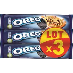 Oreo Biscuits saveur beurre de cacahuète le lot de 3 paquets de 154 g