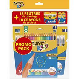 Bic Pochettes de coloriages Kids